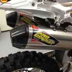 Pro Circuit Dual off road Exhaust