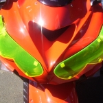 Headlight protector Yellow