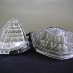 Clear Integrated Taillight Assembly