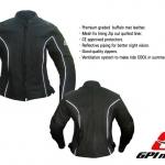 GPI Ladies Leather Black