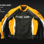 Yellow nexo n-force jacket