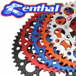 Renthal anodized sprockets